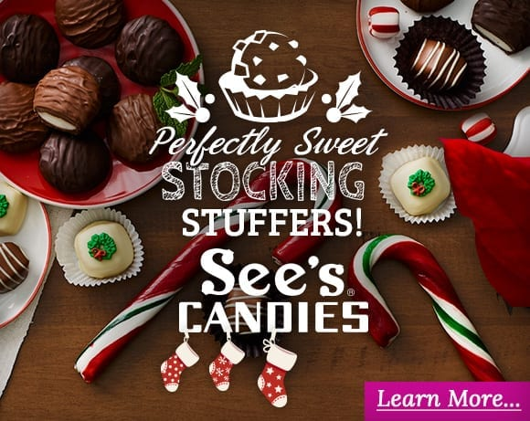 See's Candies Stocking Stuffers
